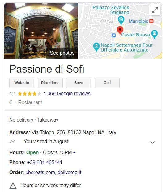 digital marketing google my business local ranking