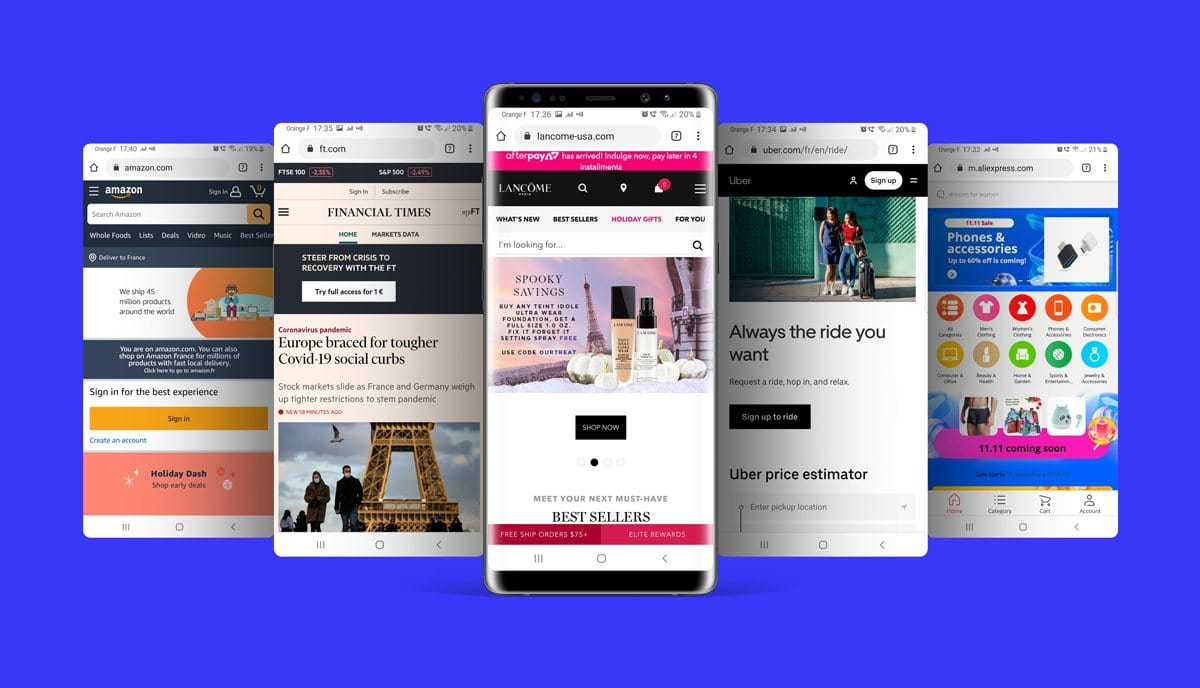 example progressive web app
